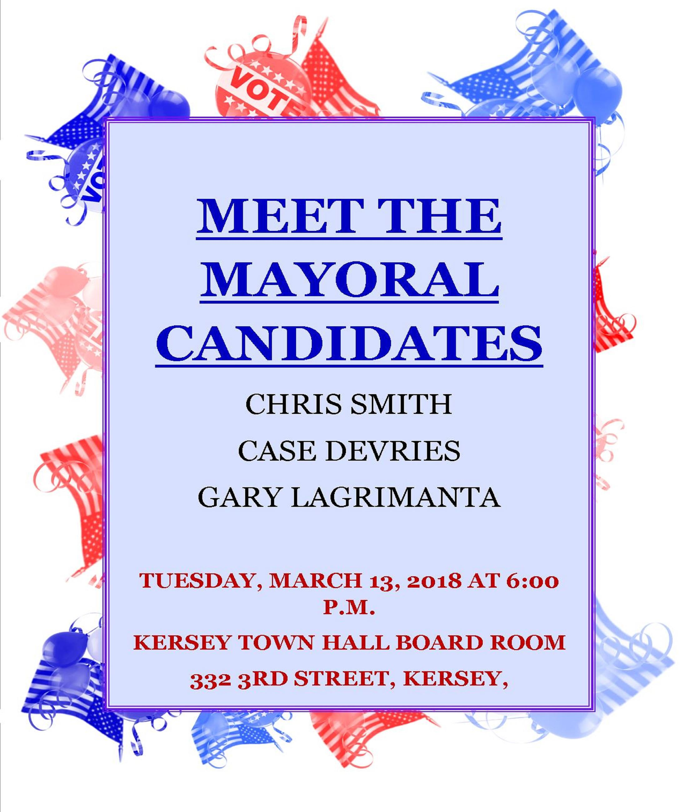 Meet the Mayoral Candidates