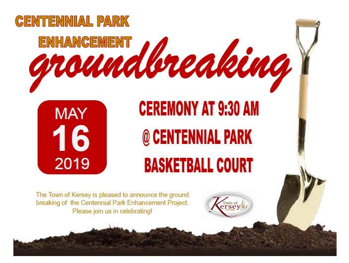 Ground breaking Community Center
