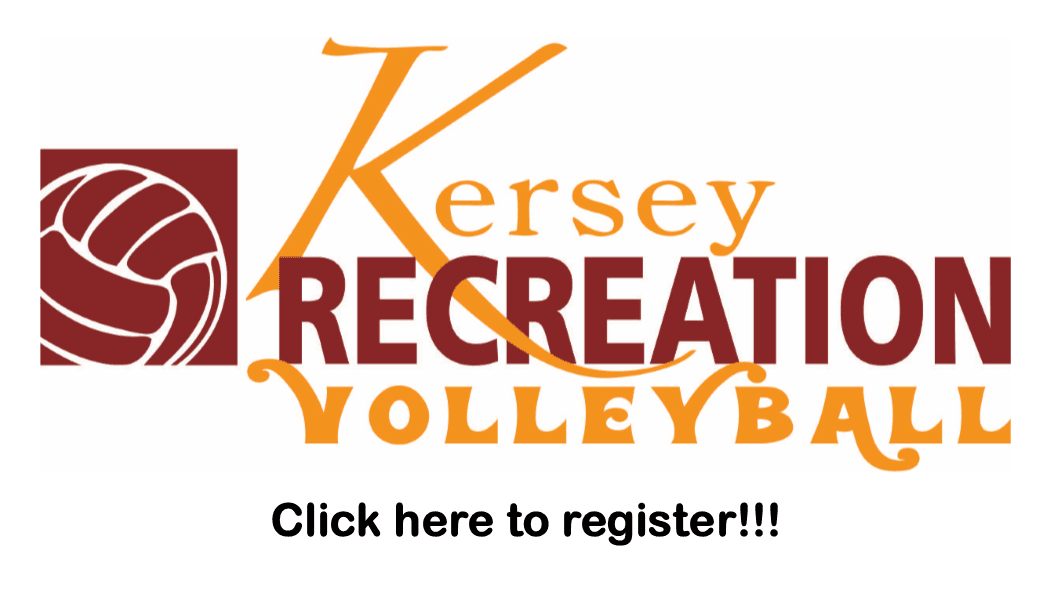 Volleyball Registration Button